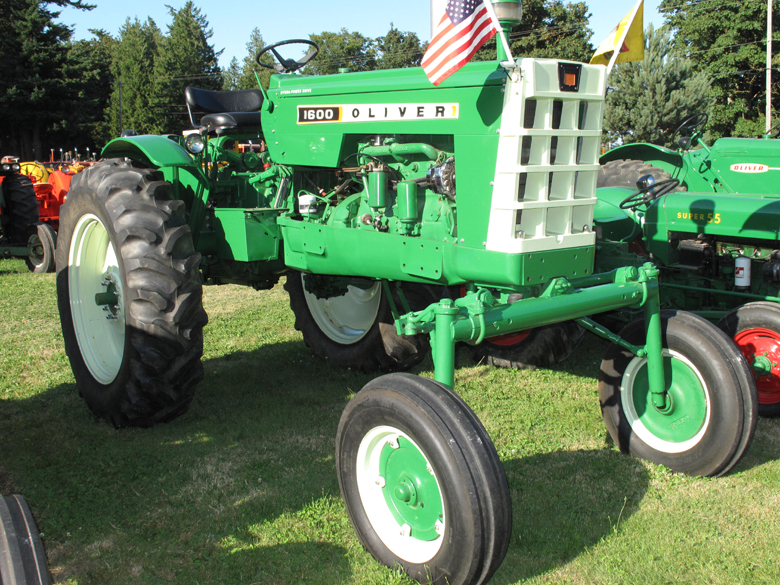 Oliver Tractor Parts Used : Oliver tractor for parts engine and