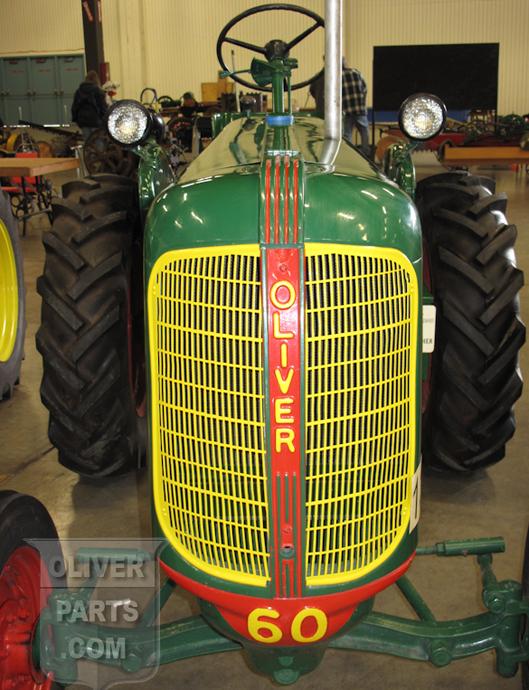 Oliver 60 grill 1946 - Oliver Parts - Oliver Tractor Parts