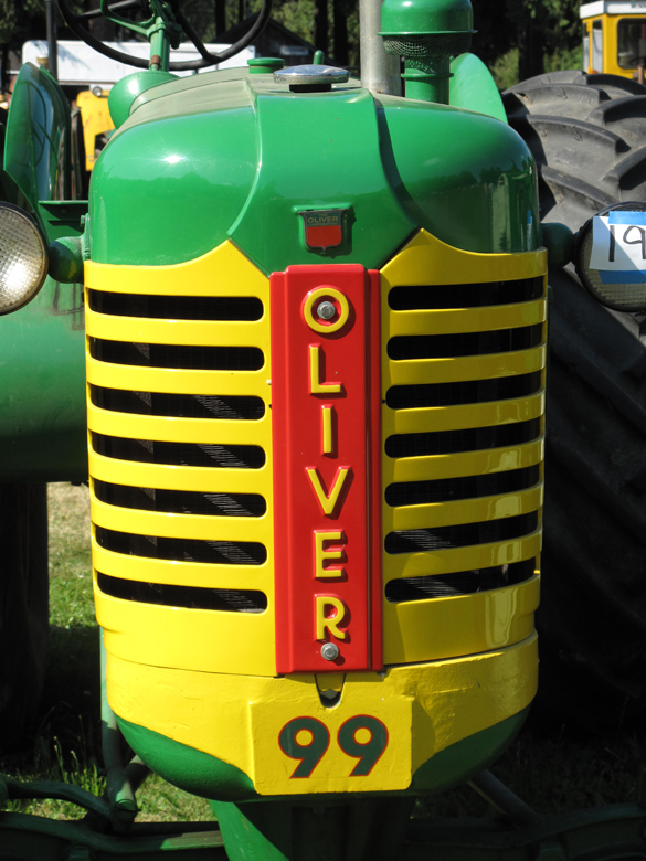 Oliver 99 grill tractor - Oliver Parts - Oliver Tractor Parts