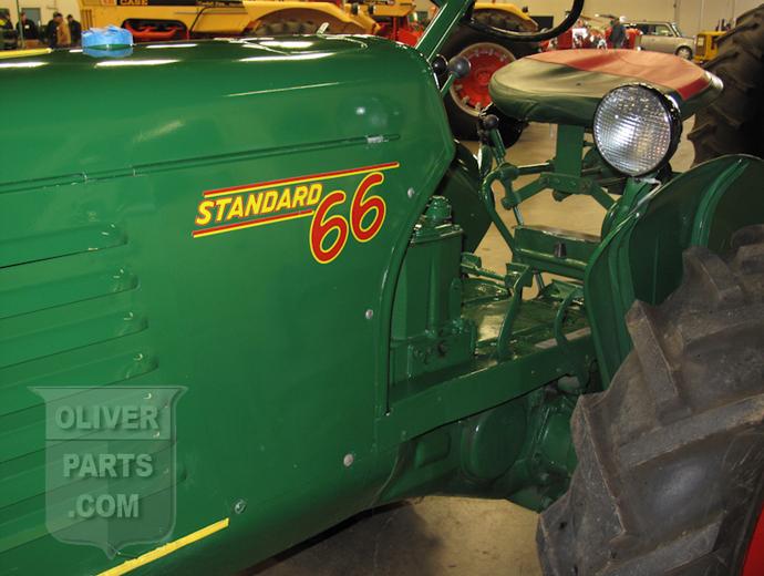 Oliver Tractor Decals : Oliver standard tractor decals parts