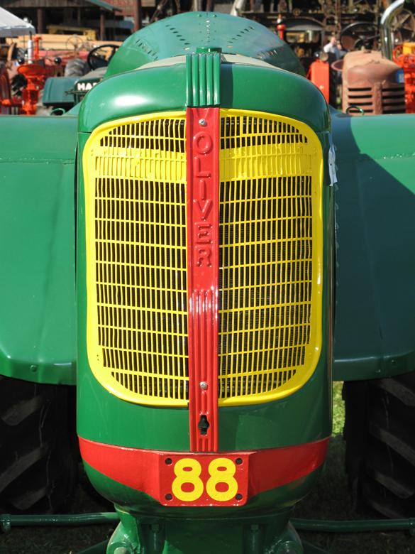 Oliver orchard tractor Grill - Oliver Parts - Oliver ...