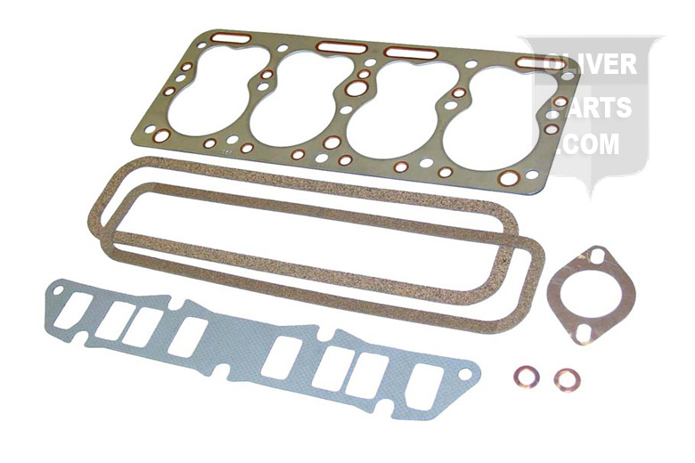 Valve Grind Gasket  Set Fits Oliver: Super 44 and 440 With 124, 140, F162 Continental Gas Engines. Replaces Oliver PN#:452317AS.