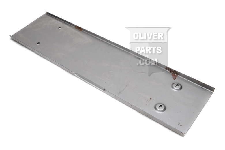 Early flip lid - covers Radiator and fuel filler - Super 55