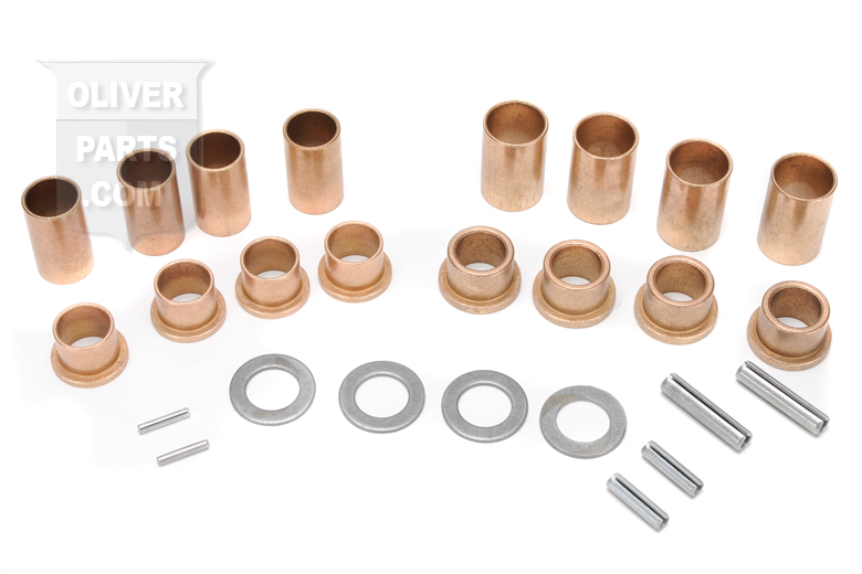 This bushing kit fits Super 55, Super 66, Super 77, super 88, super 99, super 44,  770, 880, 950, 990, 995, 550, 660, 440.