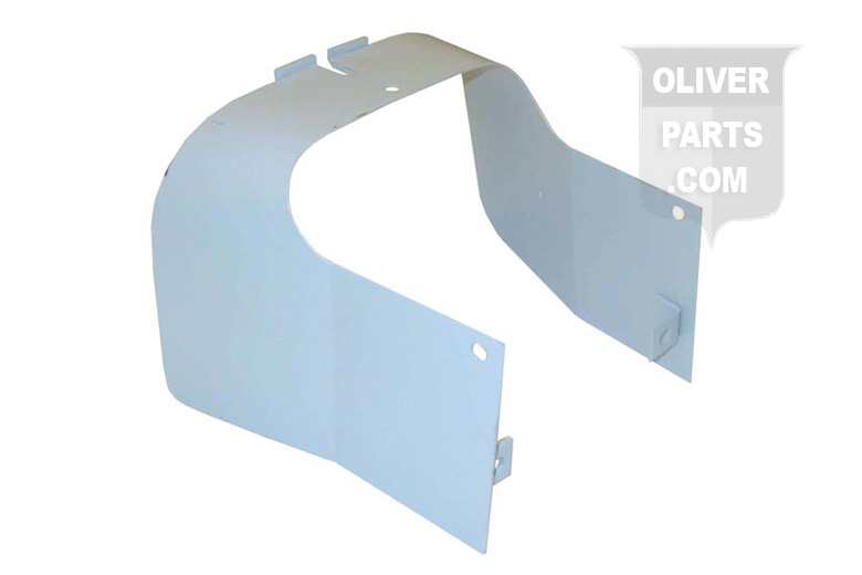 PTO Sheild For Oliver: 66, Super 66, 77, Super 77, 88, Super 88, 660, 770, and 880 Rowcrop, Industrials, and Standard. Replaces Oliver PN#:1KS1208 and 103658A.