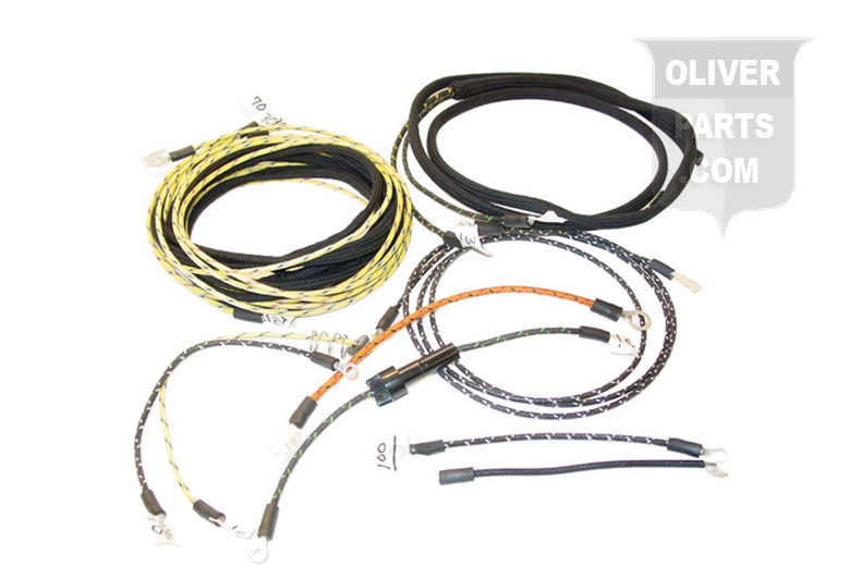 wiring harness kit for oliver 70 series oliver parts for tractors