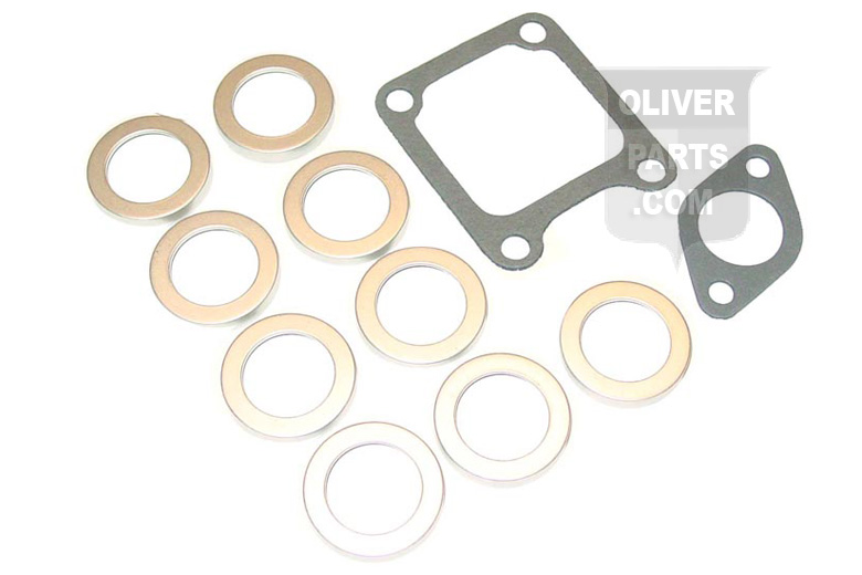Intake and Exhaust Manifold Gasket Set For Oliver: 770, 1550, 1555. Replaces Oliver PN#1ms-422 Will also fit 77 and Super 77.