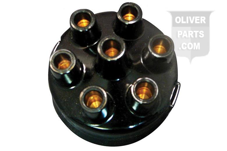 Delco Distributor Cap - 6 Cyl. - Oliver 70, 77, SUPER 77, 88, SUPER 88, SUPER 99