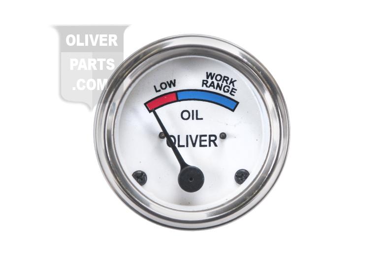 Oil Gauge  - Oliver Tractor Super 55 GasDiesel