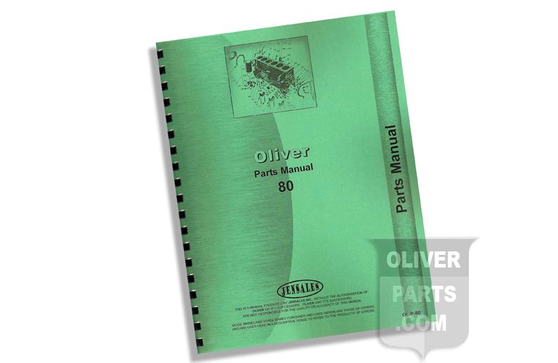Parts Manual - Oliver 80