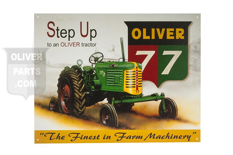 sign -  Oliver 77