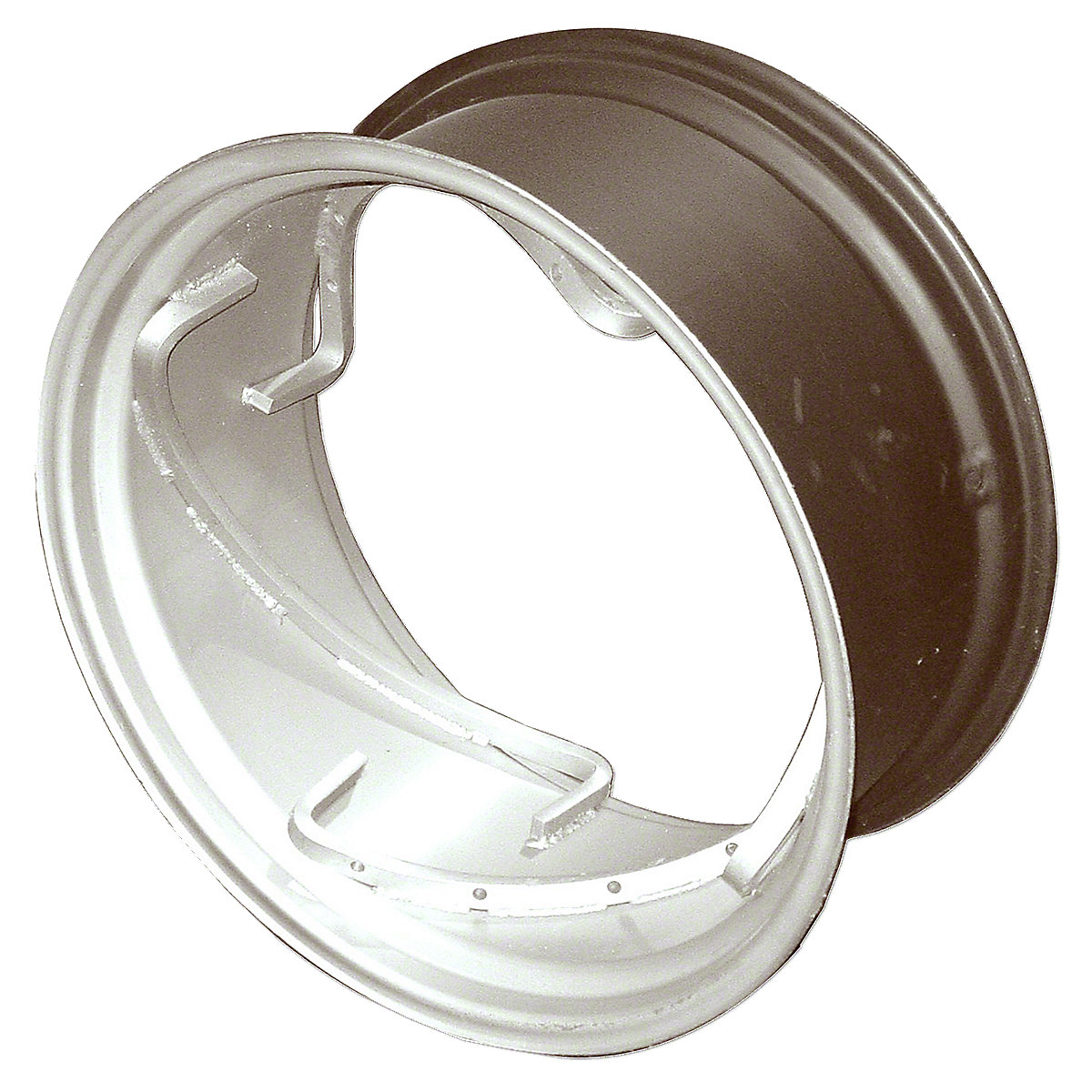 12X26 Rear Spin Out Wheel  Please check and measure your tractor closely because if this rim does not fit, we do not pay return shipping on rims.