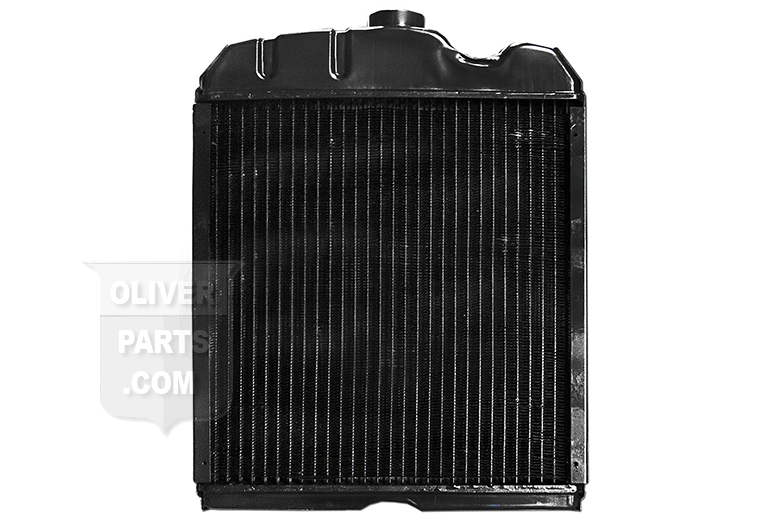 Radiator For Oliver: 77, Super 77. Gas, LP, and Diesel. For Tractors With NON PRESSURIZED SYSTEMS. Replaces Oliver PN#: ms613, 1ms513, ms513e.