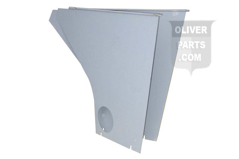 2 PIECE REAR ENGINE PANEL SET --- Oliver Applications: 88, SUPER 88 (GAS / DSL) --- USA MADE