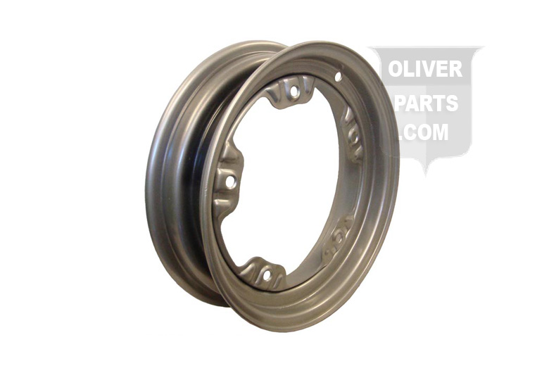 FRONT 5 BOLT WHEEL (FOR 550 x 16 OR 600 x 16 TIRE) --- Oliver Applications: FITS FOLLOWING USING 5 BOLT HEAVY CAST HUB: 77, SUPER 77, 770, 88, SUPER 88, 880, EARLY 1800 --- 4-1/4 x 16