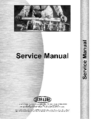 Service Manual - Oliver 90 Early model