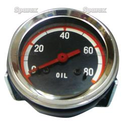 Oil Pressure Gauge For Oliver 1750, 1850, 1855, 1950, 1950T, 1955, 2050, 2150.