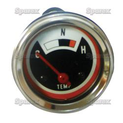 Temperature Gauge For Oliver Tractors With 12 Volt Negative Ground 1550, 1555, 1650, 1655,1750,1755, 1800, 1900, 1850, 1950, 1855, 1955, 1950T, 2050, 2150.