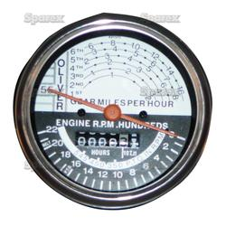 Tractormeter For Oliver Super 55 UP TO SN#:460000. Replaces Oliver PN#:IES5210
