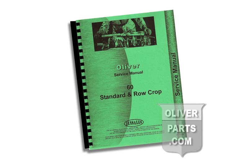 Service Manual - Oliver 60 Standard & Row Crop