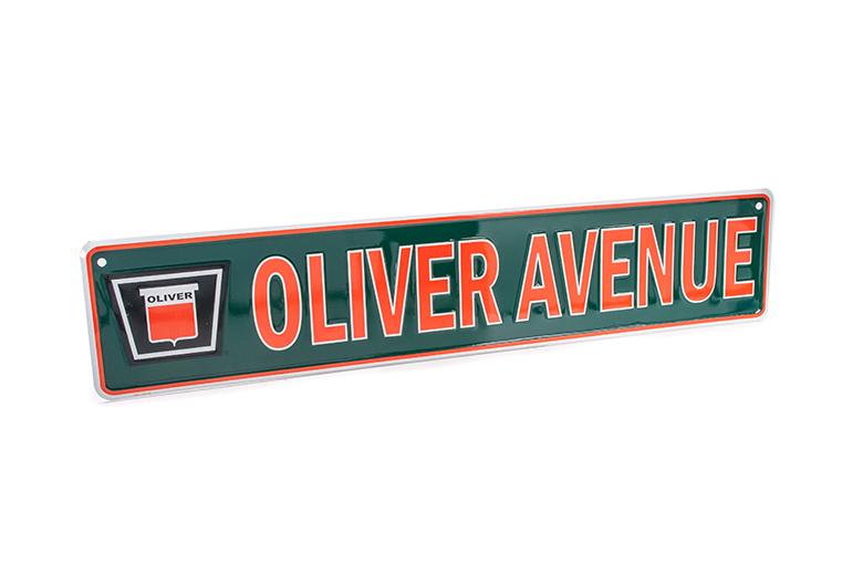 Oliver Street Sign