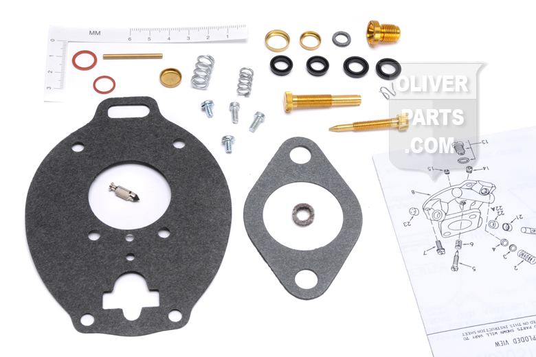 Marvel Schebler Carburetor Rebuild Kit Oliver 99, 900, 1600, 1650, 1655, 1800, OC-12