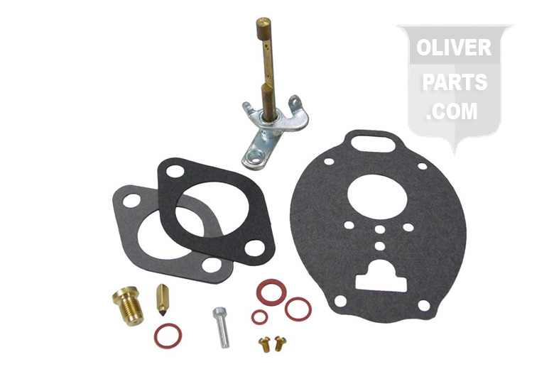 this is a basic carburetor repair kit for Marvel Schebler Carburetors. It will fit a Oliver 88, Super 88, 770 and 880 all tractors with Marvel Schebler Carburetor Numbers TSX374, TSX755, TSX811.