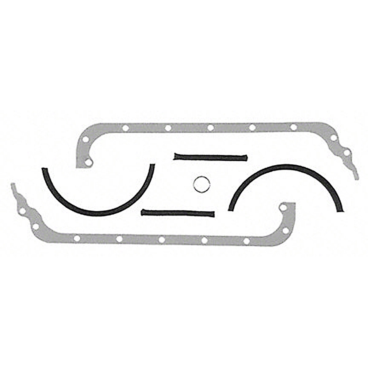 Oil Pan Gasket Set For Oliver: 44, Super 44, 440. Replaces PN#: 452265a, 452323a.