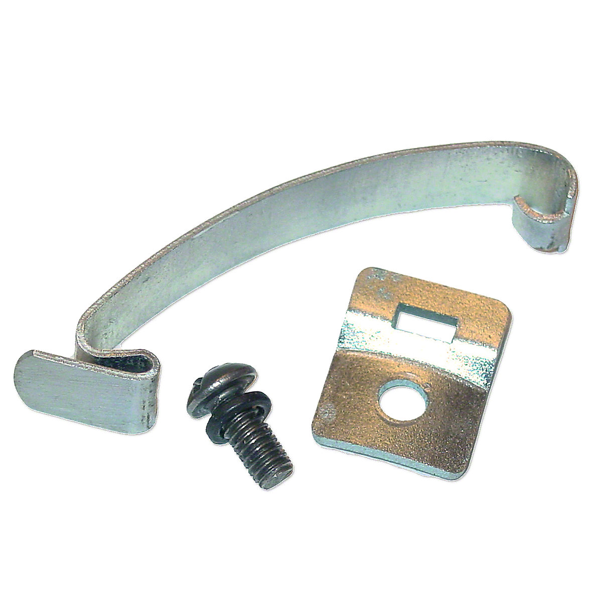 Distributor Cap Spring Clip With Bracket For Delco Distributors With The Clip Held Cap. Fit Oliver: Super 44, Super 55, 60, 66, Super 66, 70, 77, Super 77, 88, Super 88, 90, 99, 440, 550, 660, 770, 880, early 1800 UP TO SN#:124395 11/16\ Bracket