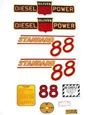 Decal Set Oliver 88