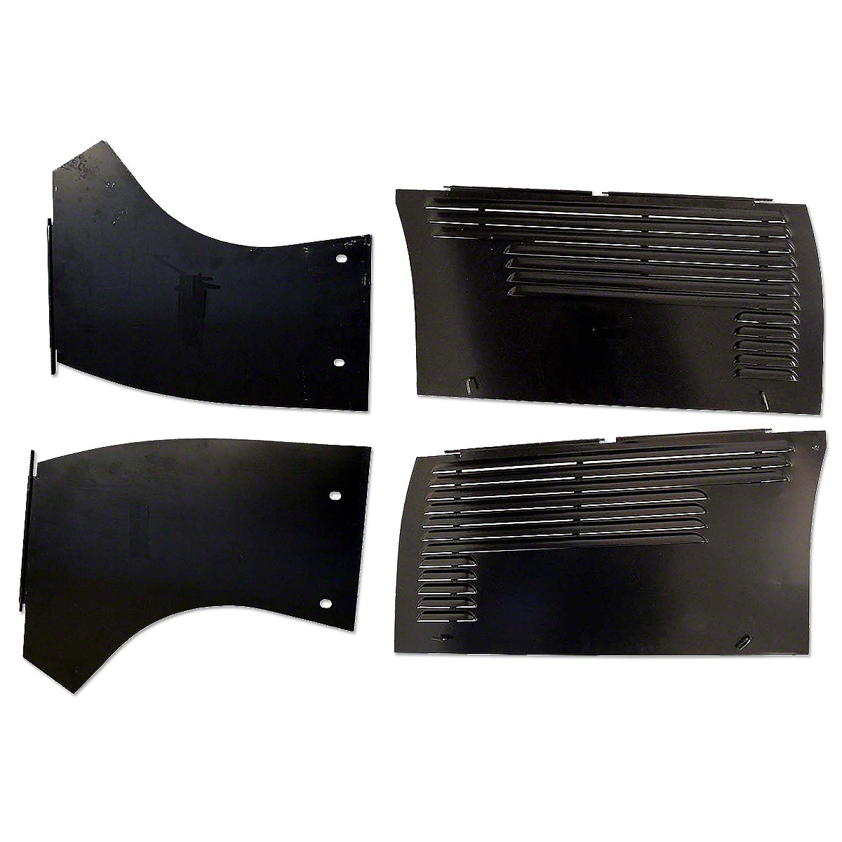 4 Piece Engine Panel Set For Oliver: 60 Standard.