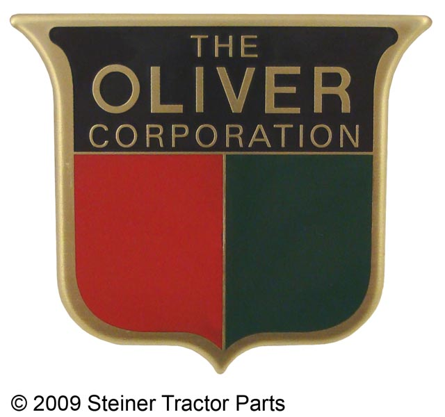 Front Emblem for Oliver 66, 77 and 88 (1949-Early 1950)