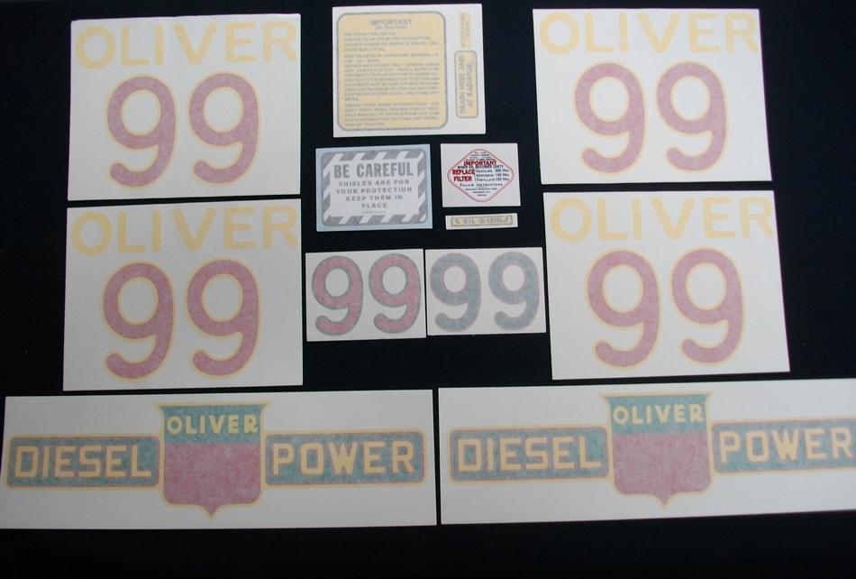 99 Diesel (Vinyl Decal Set)