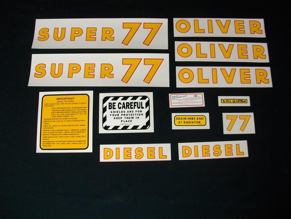 Oliver Super 77 Diesel (Oliver Super 77 Diesel Set)