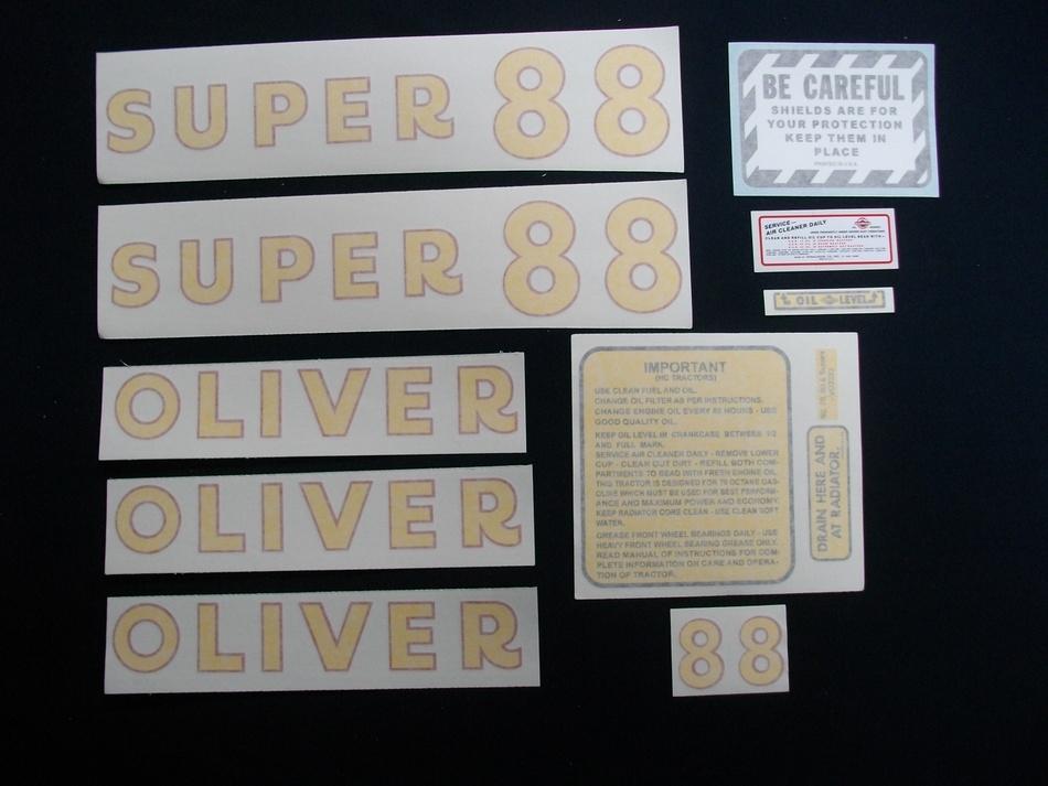 Super 88 (Vinyl Decal Set)