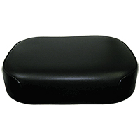 Seat bottom Black Vinyl on Steel Oliver 1550