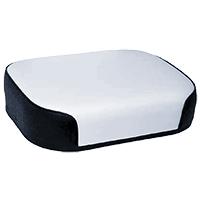 Seat Bottom Black & White Vinyl on Steel