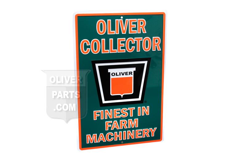 Oliver Parking Sign