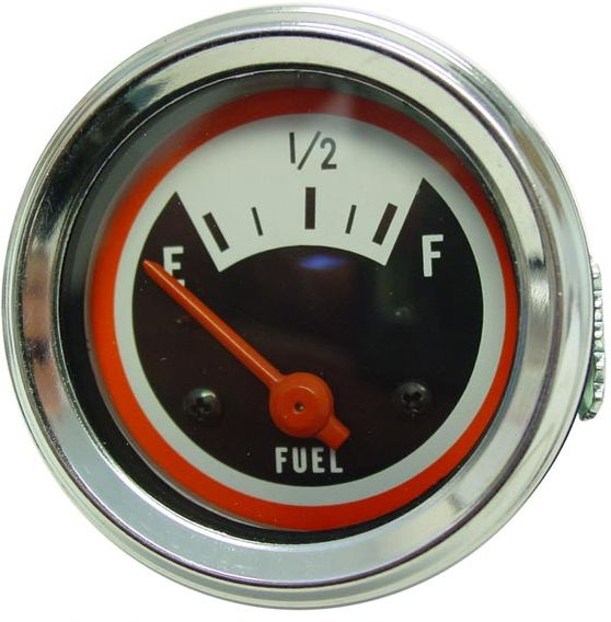Brand New 12-Volt Fuel Gauge (Negative Ground) for the following models: Oliver 1550, 1555, 1650, 1655, 1750, 1755, 1850, 1855, 1950, 1950T, 1955, 2050, 2150
