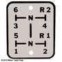 Brand new Shift Pattern Plate - Oliver 880 (sn:73640 and up)