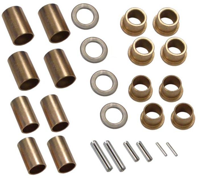 New Seat Spring Bushing Repair Kit Fit\'s Oliver: 66, 77, and 88. When Replacing Rubber Seat Springs We Highly Recommend Replacing The Worn Bushings. 
