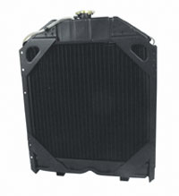 Radiator For Oliver: 1250A, 1255, 1270, 1355, 1365, and 1370.
