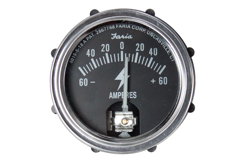 Amp Gauge 60-0-60 Universal Gauge Fits Oliver Models With Alternator.