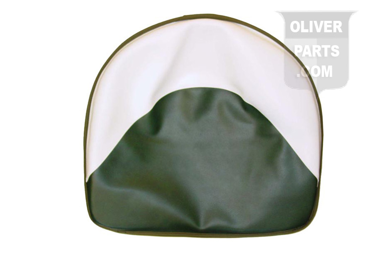 Green And White Deluxe Tractor Seat Pad For Oliver Tractors