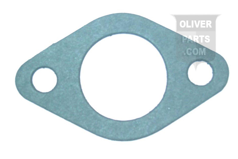Carburetor to Manifold Mounting Gasket For Oliver 1600, 1650, 1655, and White 2-70 2-3/8 Center to Center Bolt Holes, 1-5/16 Center Hole.