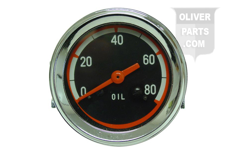0-80 PSI Oil Pressure Gauge For Oliver: 1750, 1850, 1855, 1950, 1950T, 1955, 2050, and 2150. This Gauge Has a Black Face and DOES NOT SAY OLIVER On the face of the Gauge. Replaces Oliver PN#: 159565A and 30-3485471