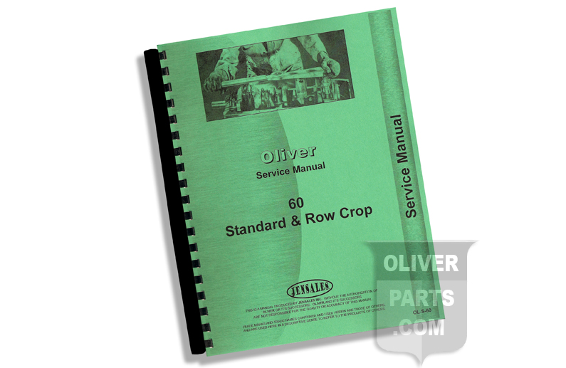 Service Manual - Oliver Standard and Row Crop