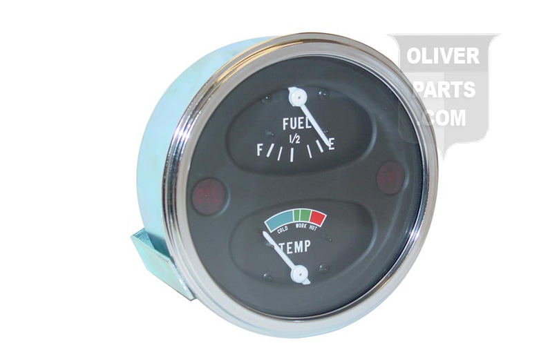 Cluster Gauges For Oliver:550, 770, and 880. For Tractors With Positive Ground Systems. On some applications dash openings may need to be slightly enlarged.