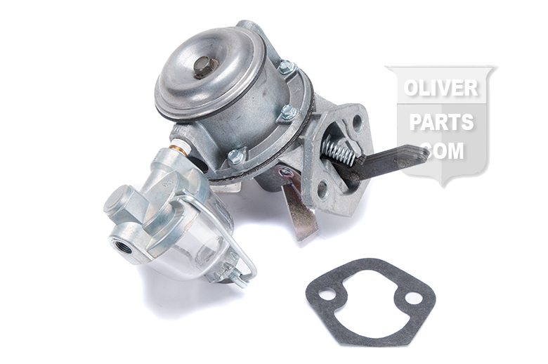 Hand Primer Pump For Oliver 550 Gas Engine -- Oliver Parts for Tractors