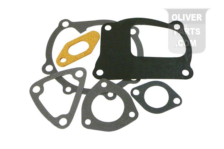 Water Pump Gasket Set For Oliver: 1250A, 1255, 1265, 1270, 1355, 1365, and 1370. Replaces Oliver PN#:677201A, 677205A, 677198A, 677199A, 31-2900135.